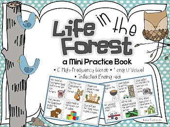 Life in the Forest - A Mini Book