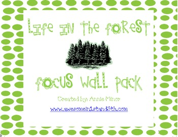 Life in the Forest Focus Wall Pack
