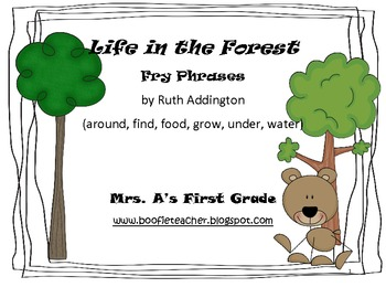 Life in the Forest Fry Phrases Reading Street