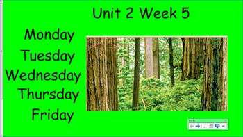Life in the Forest Unit 2 Week 5
