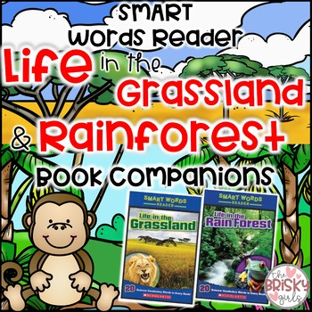 Life in the Grassland/Life in the Rain Forest Student Flip Books BUNDLE