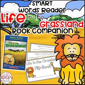 Life in the Grassland Smart Words Reader Student Flip Book