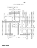 Life in the Industrial Age Vocabulary Crossword for World History
