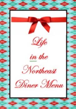 Life in the Northeast Diner Menu