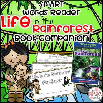 Life in the Rain Forest (Rainforest) Smart Words Reader Student Flip Book