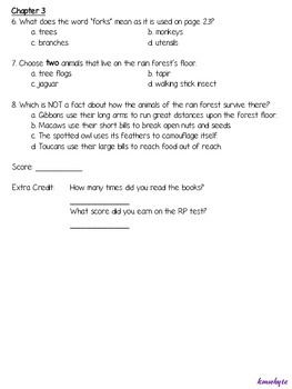 Life in the... Reader - FSA-Style ELA Worksheets