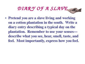 Life in the South - Slavery PowerPoint