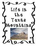 Life in the Texas Mountains-Mountain & Basin