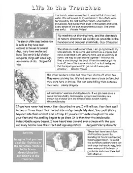 Life in the Trenches (Handout)