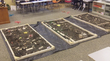Life in the Trenches--WW1 Model Building Activity