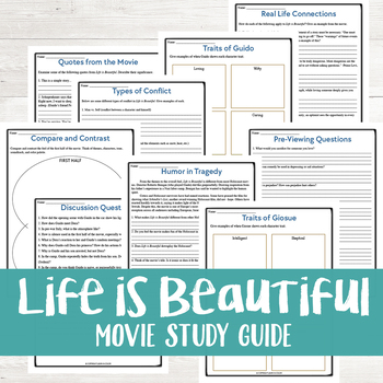 Life is Beautiful Movie Study Guide