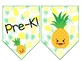 Life is Sweet Pineapple Banner