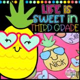 Life is Sweet in Third Grade Bulletin Board