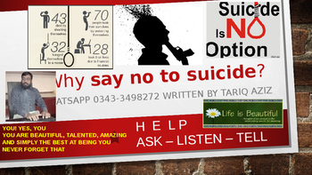 Life is a Beautiful and Why say no to suicide