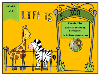 Life is a Zoo - A Language Game for Grades 2 to 4