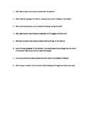 Life of Equiano Study Questions