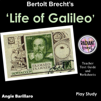 Life of Galileo Teacher Text Guide and Worksheet