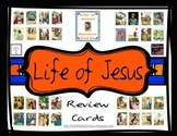 Life of Jesus Review Cards Freebie