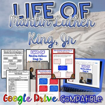 Life of Martin Luther King, Jr. {Digital AND Paper}