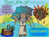 Life of Moses Bible Activity Packet