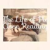 """Life of Pi"" Code X Unit 2  Close Reading"