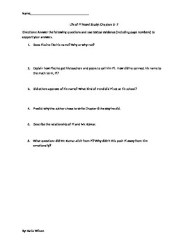 Life of Pi: Complete Novel Study Guide