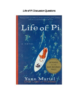 Life of Pi Discussion Questions