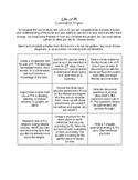 Life of Pi: Final Choose-a-Project