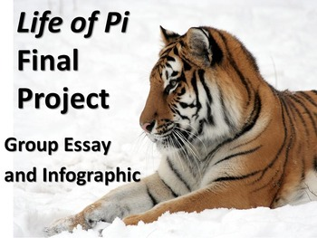 Life of Pi Final Project/Assignment - Group Essay Writing and Infographic