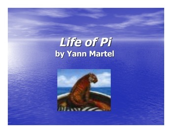 Life of Pi - PowerPoint