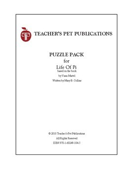 Life of Pi: Puzzle Pack - Crosswords, Word Searches, Worksheets, Games