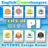 Life of Pi REVERSE Escape Room! Break IN to a New Unit wit