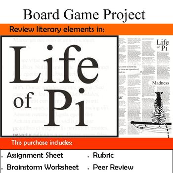 Life of Pi - Review Board Game Project