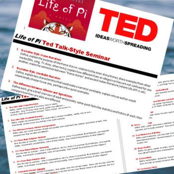 Life of Pi Seminars/TED Talks