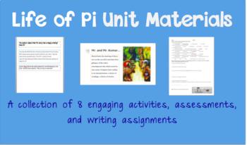 Life of Pi Unit Materials