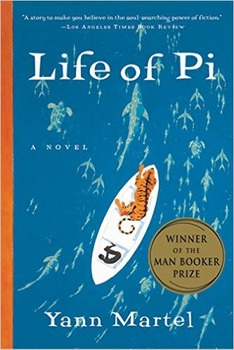 Life of Pi by Yann Martel, Paperback Novel, Shipping Included