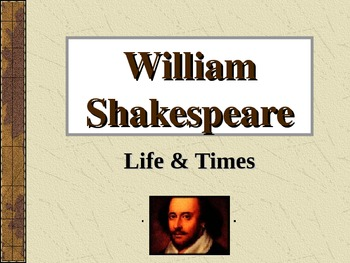 Life of Shakespeare: overview of his career