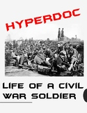 Hyperdoc: Life of a Civil War Soldier Webquest