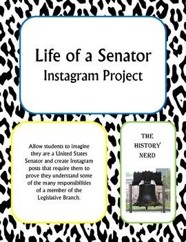 Life of a Senator Instagram Project