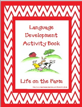 Life on a Farm Language Development Activity