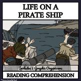 Life on a Pirate Ship - Reading Comprehenson