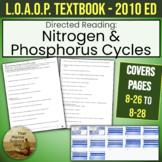Life on an Ocean Planet Directed Reading Nitrogen & Phosphorus Cycles w/Key