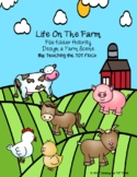 Life on the Farm File Folder