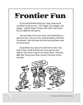 Life on the Frontier: American History Mini Lessons for Grades 1–3