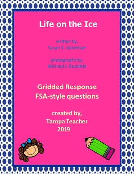 Life on the Ice FSA-style Gridded Questions