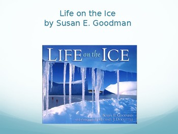 Life on the Ice Interactive Vocabulary Lesson, Journeys Lesson 25