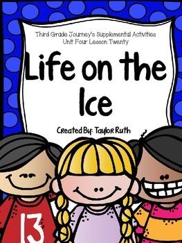 Third Grade Journey's Supplemental Activities: Life on the