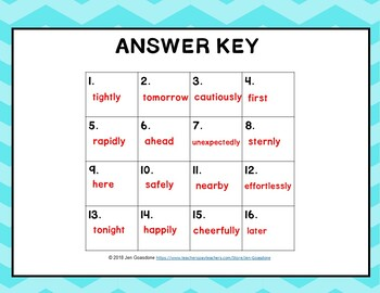 Life on the Ice (Journeys L.20, 3rd Grade) ADVERBS Task Cards