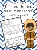 Life on the Ice (Skill Practice Sheet)