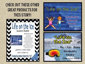 Life on the Ice: Virtual Evidence Bag Journeys 3rd Grade Lesson 20